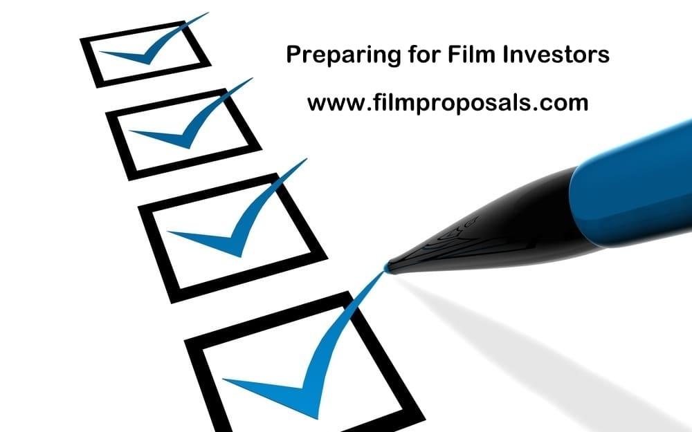 Preparing for Film Investors