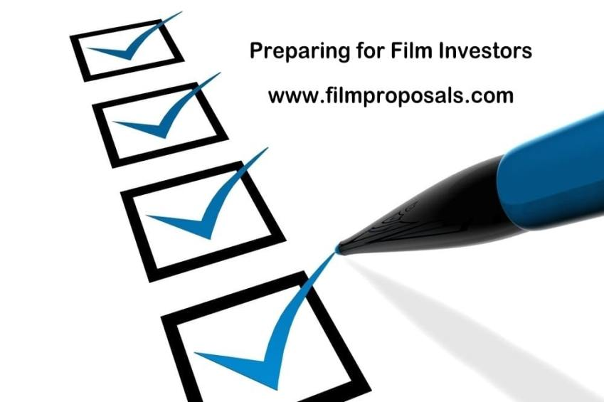 Preparing for Film Investors