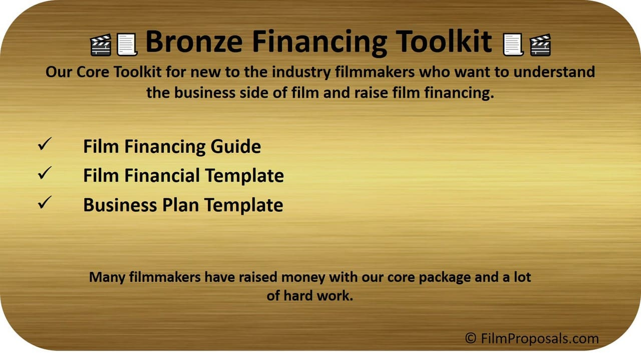 Bronze Film Financing Toolkit