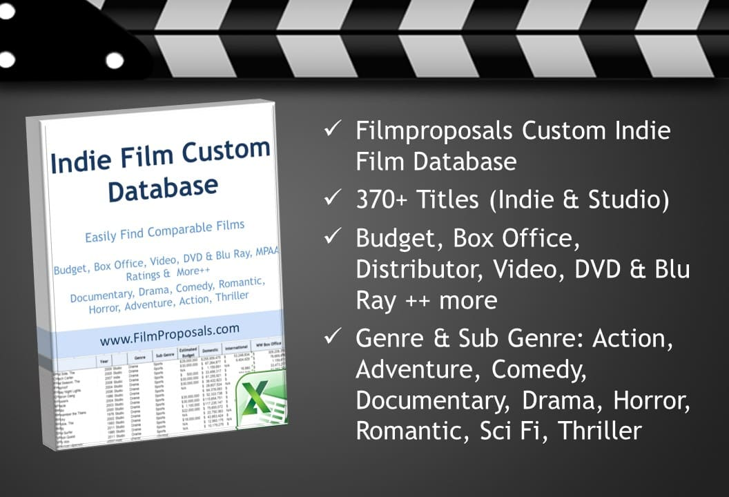 Comparable Films Revenue Database