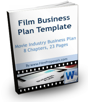 Business plan film template vertical
