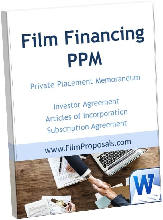 Film Investor Agreement Template PPM
