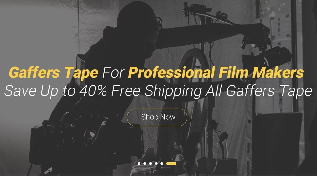 Gaff Tapes Indie Film Supplier