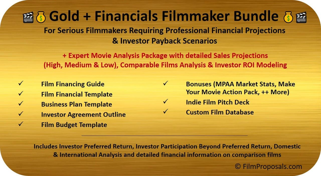 Film Financing Financing Bundle Projections