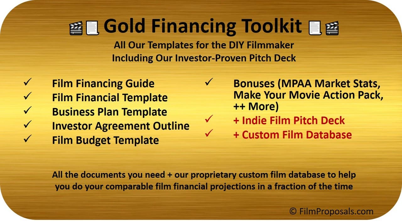 Gold Film Financing Toolkit